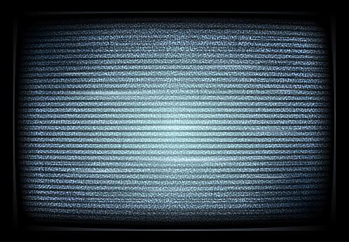 No signal TV illustration. interference. Noise tv screen interfering signal. retro televisor. Television noiseю. Vector illustration