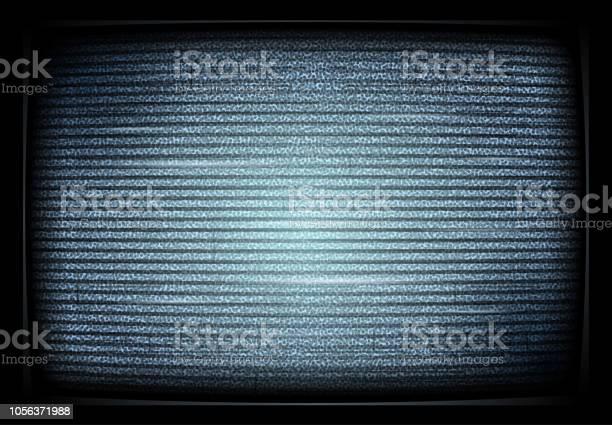 Geen Signaal Tv Illustratie Interferentie Lawaai Tv Scherm Storende Signaal Retro Televisor Televisie Noiseю Vectorillustratie Stockvectorkunst en meer beelden van Abstract