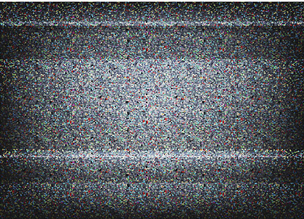No signal TV illustration. Scalable vector. Error concept No signal TV illustration. Scalable vector. Error concept television stock illustrations