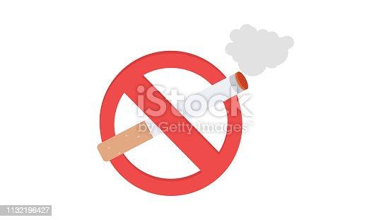 istock No smoking icon 1132196427