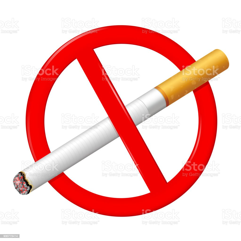 No Smoking Sign Stop Smoking Symbol Stock Vector Art More Images