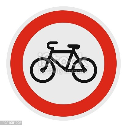 No velo icon. Flat illustration of no velo vector icon for web.