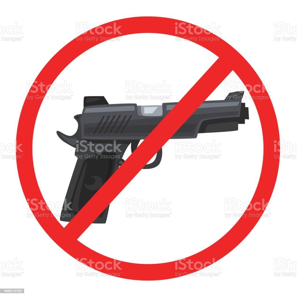 Keine Spur Von Waffe Cartoon Wector Abbildung Stock Vektor Art Und Mehr Bilder Von Aggression Istock