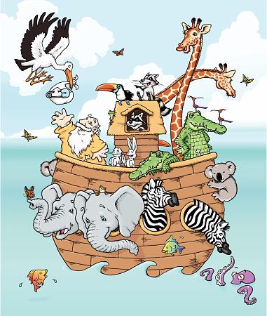 Noah Meets the Stork