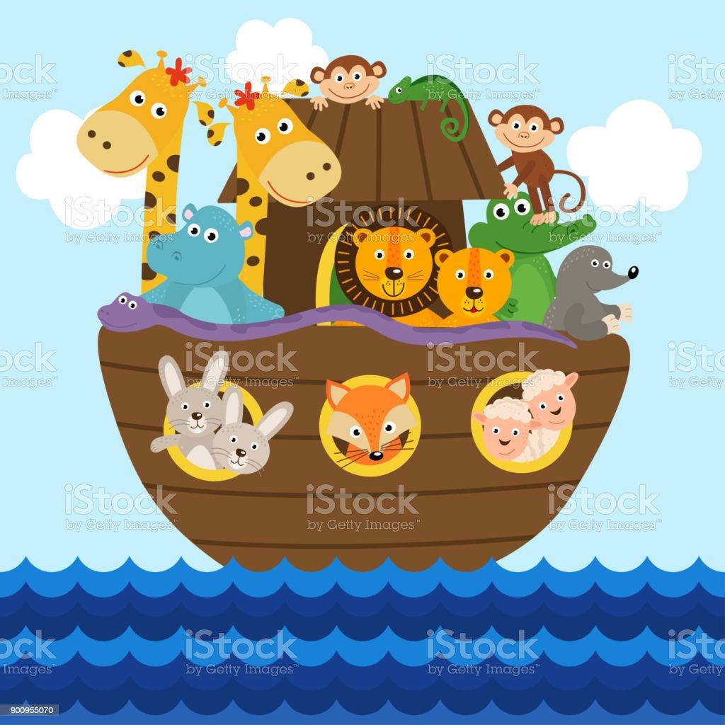 Vistoso Arca Simple Noahs Para Colorear Inspiración - Enmarcado Para ...