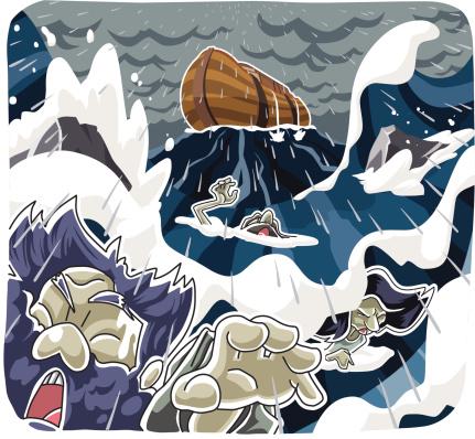 Noahs Ark Stockvectorkunst en meer beelden van Angst