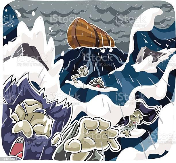 Noahs Ark-vektorgrafik och fler bilder på Början