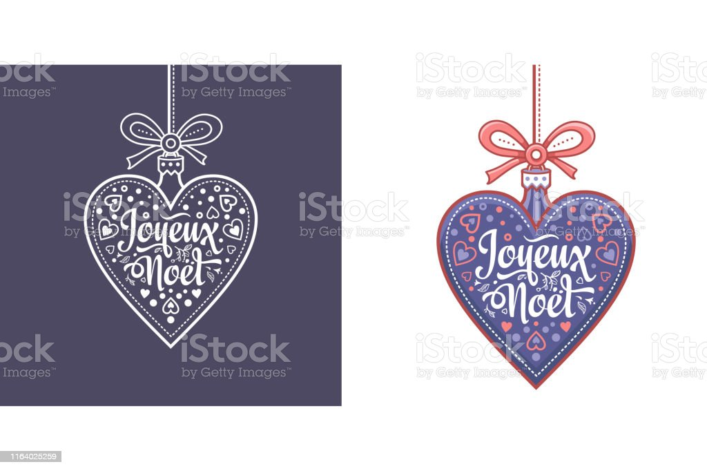 Noel. Joyeux Noel. Noel Xmas - French text for greeting cards and...