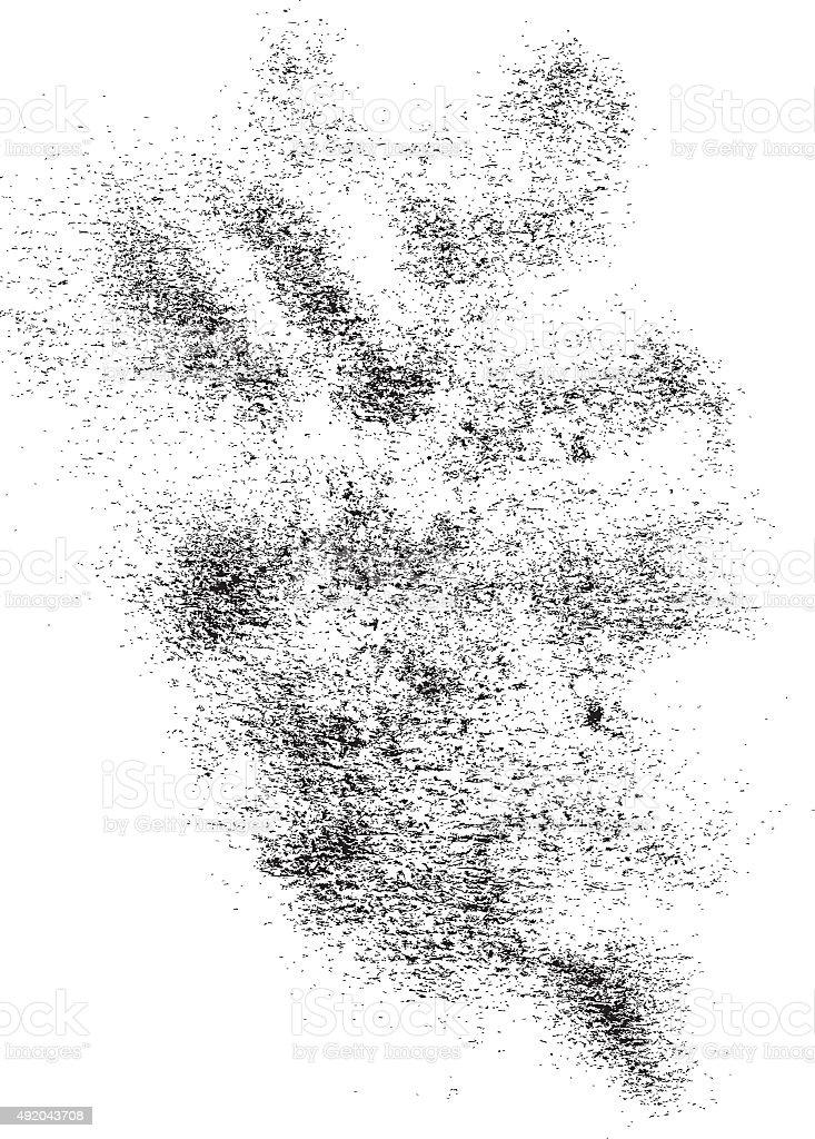 Noise and Dusty Texture vector art illustration
