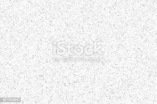 istock noise pattern. seamless grunge texture. white paper. vector 957053842