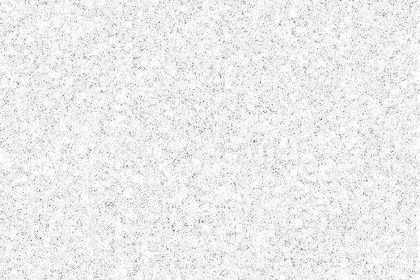 noise pattern. seamless grunge texture. white paper. vector - hałas stock illustrations