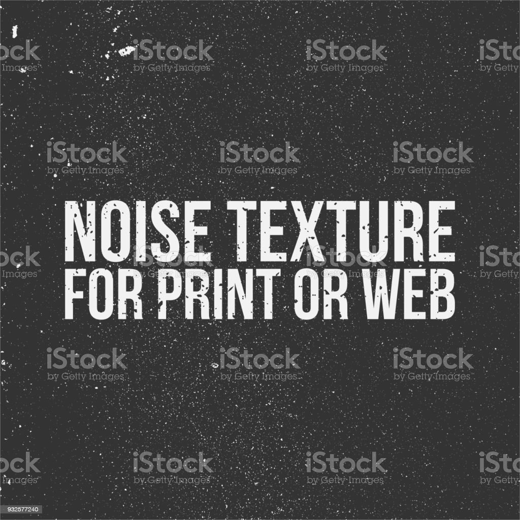 Noise Texture for Print or Web vector art illustration