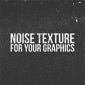 Noise Texture for Your Graphics. Black and white Background