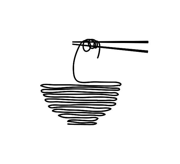 麺  - ラーメン点のイラスト素材/クリップアート素材/マンガ素材/アイコン素材
