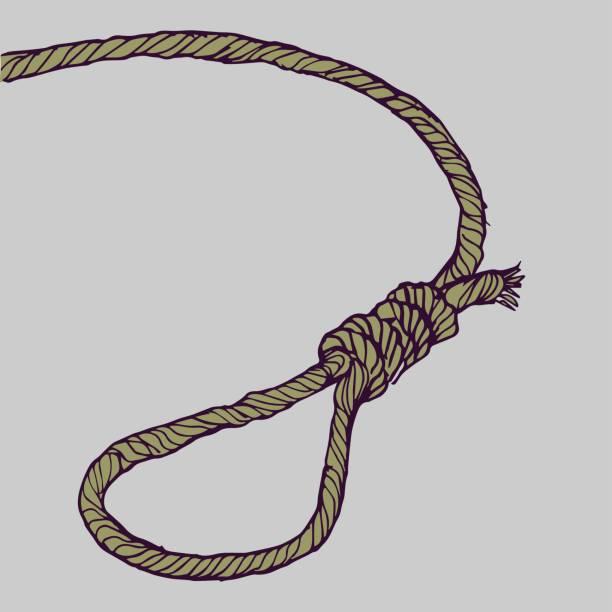 Noose vector art illustration