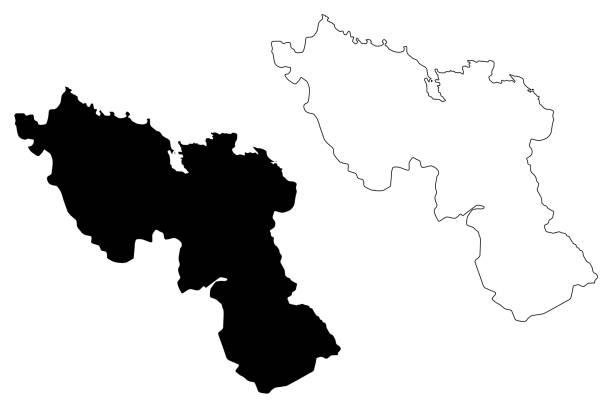 Nord department (Republic of Haiti, Hayti, Hispaniola, Departments of Haiti) map vector illustration, scribble sketch Nord map Nord department (Republic of Haiti, Hayti, Hispaniola, Departments of Haiti) map vector illustration, scribble sketch Nord map drawing of a haiti map stock illustrations