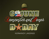 Normandy landings, U.S. D Day, celebration