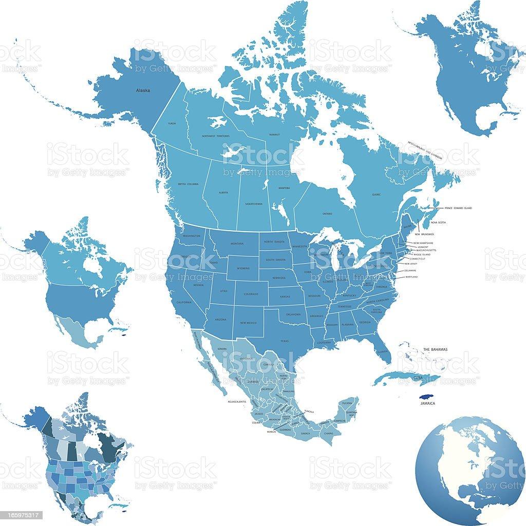 royalty free north america clip art vector images illustrations rh istockphoto com north american clip art north america continent clipart