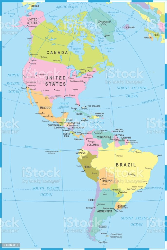 North And South America Map Vector Illustration Stock ... on map of cuba, map of brazil, political map of north america, map of us and south america, map of southern north america, spanish language, map of american continent, latin america, christopher columbus, map of spain, native americans in the united states, central america, map of peru, atlantic ocean, map of panama, map of south america countries, map of antarctica continent, united states of america, blank map of north america, map of the americas, western hemisphere, map of canada, map of africa, map north america south elementary, indigenous peoples of the americas, map of south pacific islands, pacific ocean, map of mexico, map of western hemisphere,