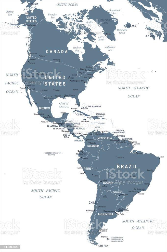 South America Map Drake Passage South America
