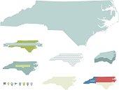 North Carolina State Maps