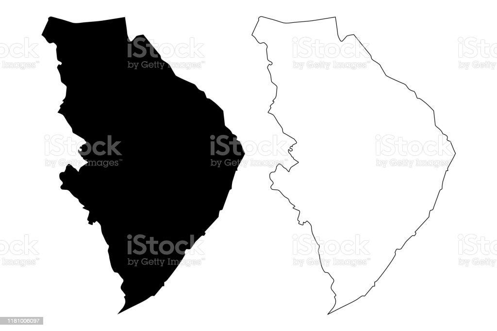 北カレリア地方地図ベクトルイラスト落書きスケッチ北カレリアマップ ...