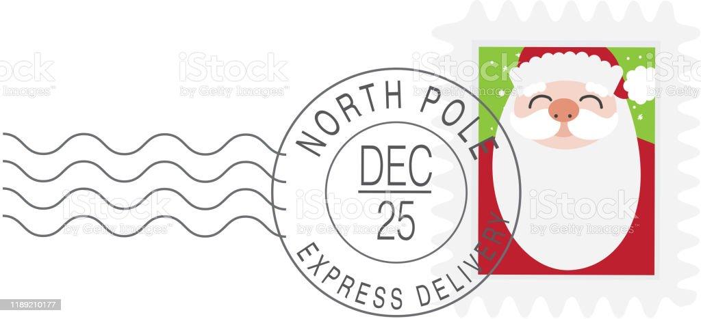 Clipart santa postage stamp, Clipart santa postage stamp Transparent FREE  for download on WebStockReview 2020