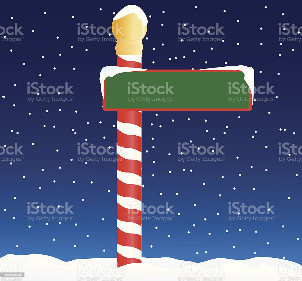 North Pole royalty-free north pole stock vector art & more images of celebration event