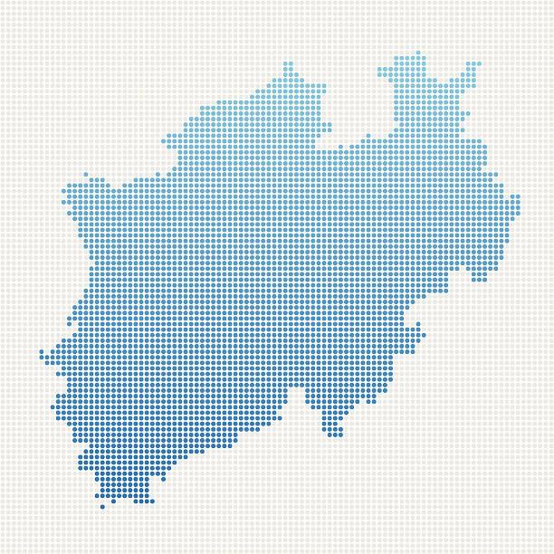 Nordrhein Westfalen Karte.Nordrhein Westfalen Stock Vektoren Und Grafiken Istock