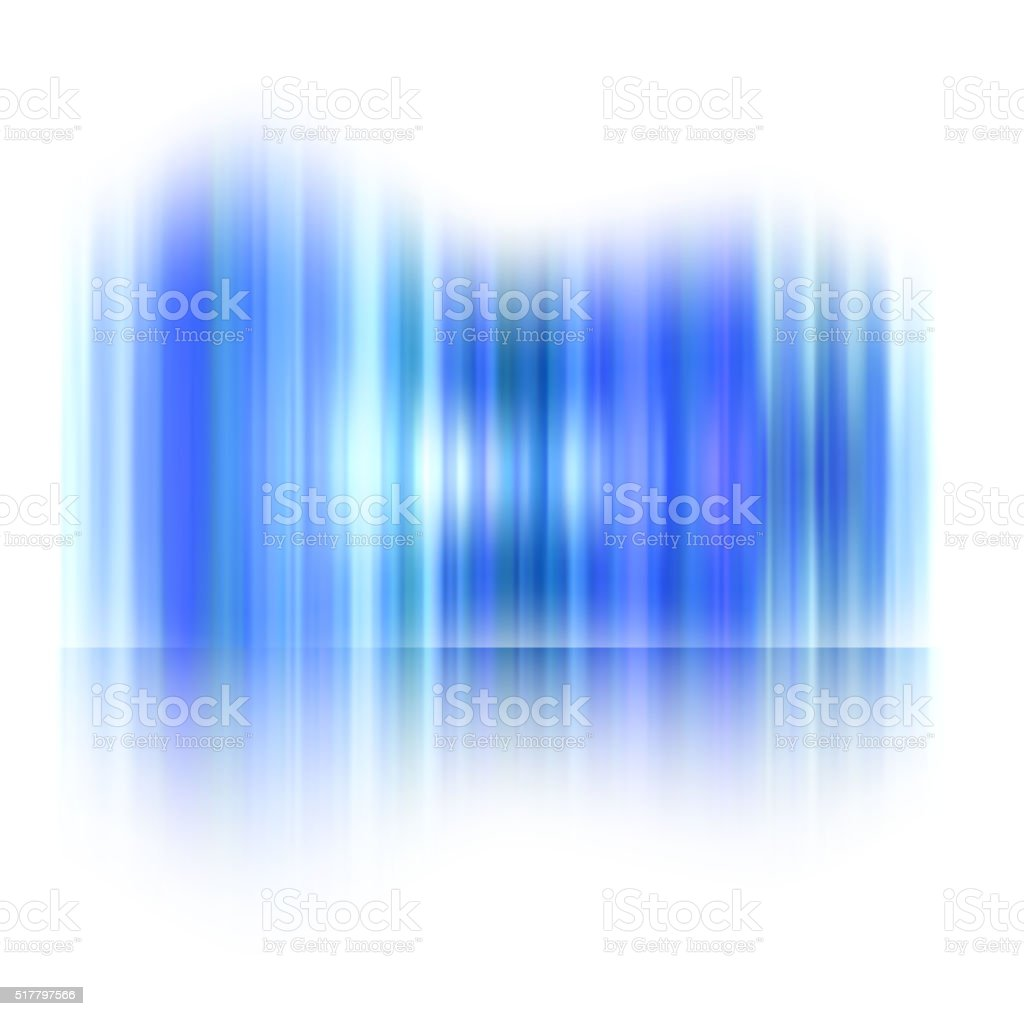 Luzes do norte, Aurora polar - ilustração de arte em vetor