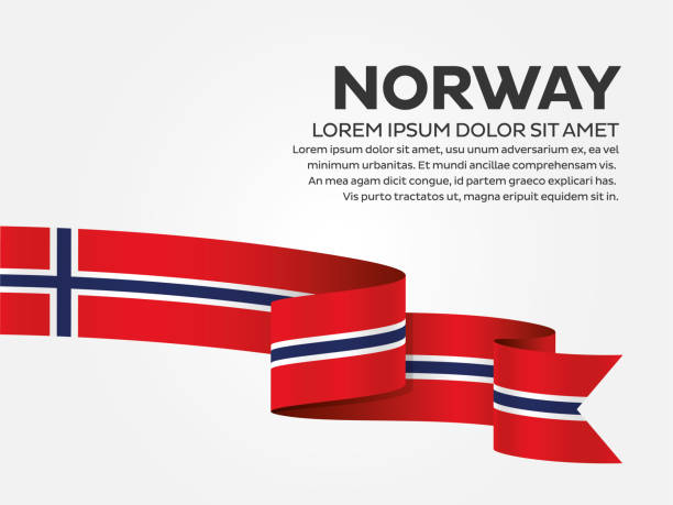 Norway flag background Norway, country, flag, vector, icon norway stock illustrations
