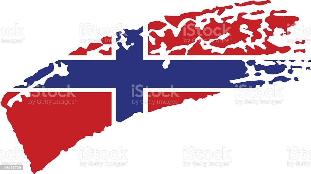 노르웨이 페인트 플래깅 royalty-free 노르웨이 페인트 플래깅 0명에 대한 스톡 벡터 아트 및 기타 이미지