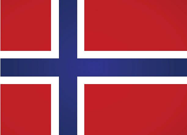 illustrazioni stock, clip art, cartoni animati e icone di tendenza di bandiera della norvegia. - fiordi