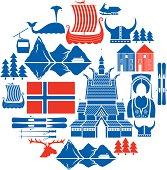 Norwegian Icon Set