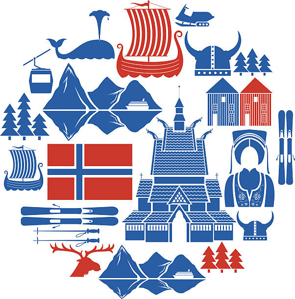 Norwegian Icon Set A set of Norwegian related icons. See below for more travel images and other country icon sets. If you can't see the city or country you need message me as I take requests. norway stock illustrations