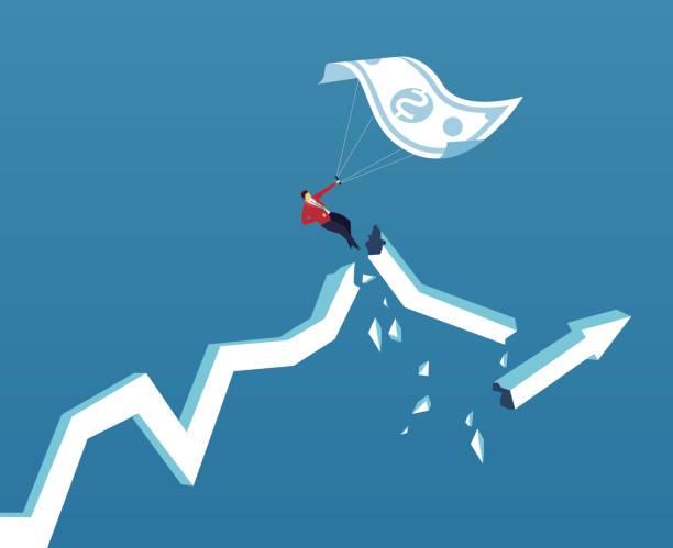 illustrations, cliparts, dessins animés et icônes de pas peur du risque - inflation