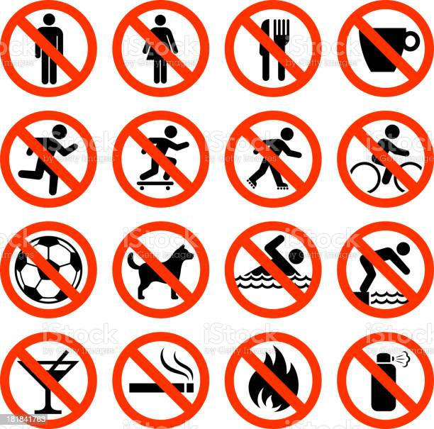 Not allowed sign collection vector id181841763?b=1&k=6&m=181841763&s=612x612&h=92eyshtjg2fjatwmp7 bnluu9xhcnrodozu0zwrrrsa=