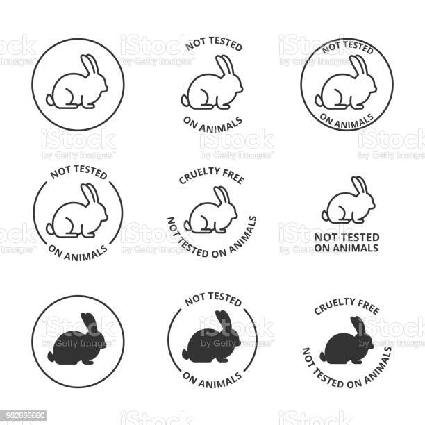 Not tested on animals cruelty free icons vector id982666660?b=1&k=6&m=982666660&s=612x612&h=cflklixwcyxliysps80atow2ikinacycuywnr6bidxq=