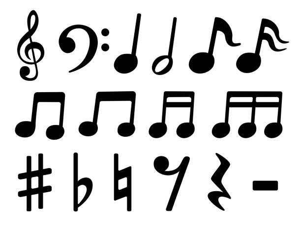 音符 イラスト素材 Istock