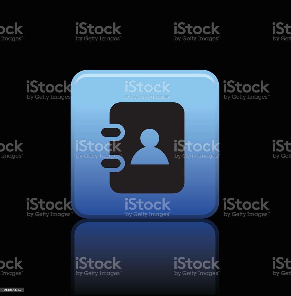 notebook button icon royalty-free stock vector art