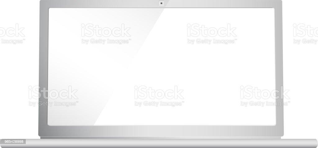 notebook eye level angle notebook eye level angle - stockowe grafiki wektorowe i więcej obrazów biznes royalty-free