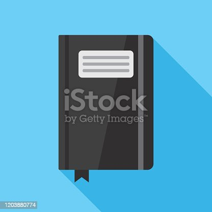 Notebook Icon Flat 3