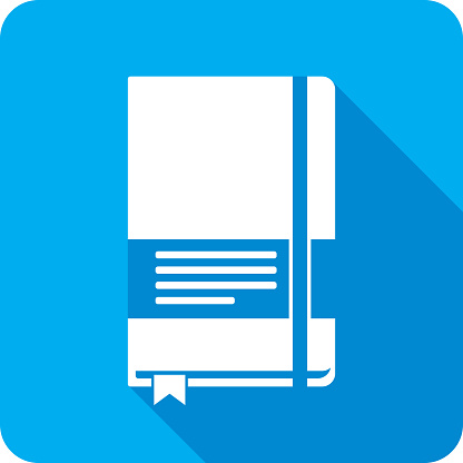 Notebook Icon Silhouette 1