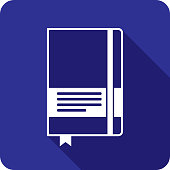 istock Notebook Icon Silhouette 2 1209163422