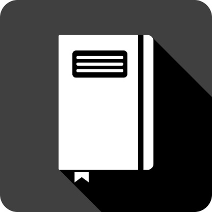 Notebook Icon Silhouette 3
