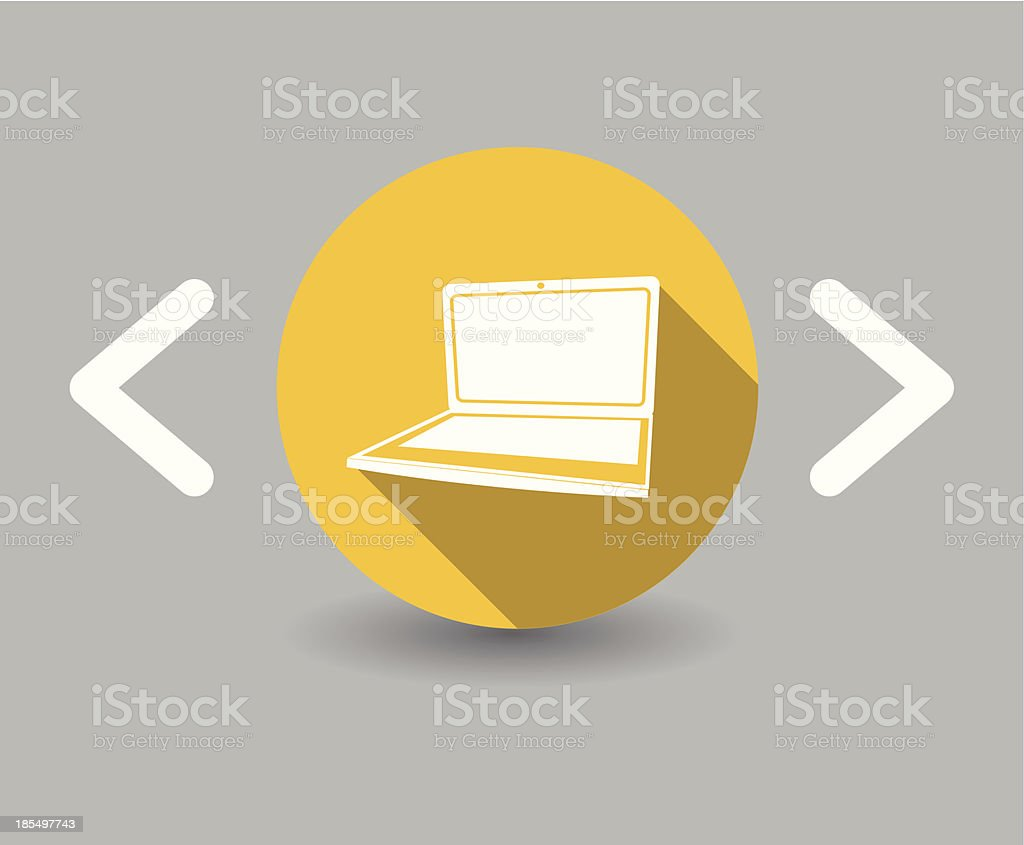 notebook icon royalty-free stock vector art
