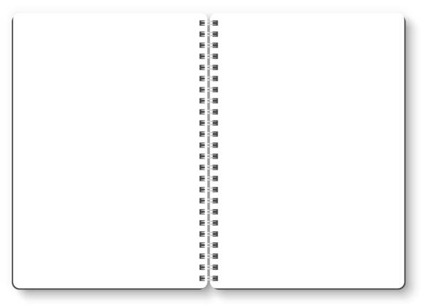 Royalty Free Spiral Binding Clip Art Vector Images