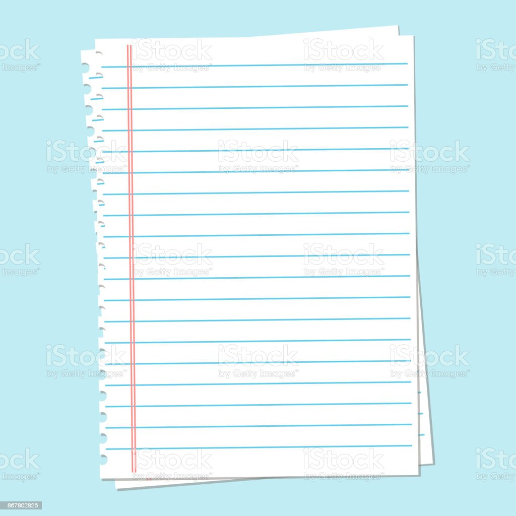 Notebook Paper Background Lined Paper Stock Illustration Download Image Now Istock 46,000+ vectors, stock photos & psd files. notebook paper background lined paper stock illustration download image now istock