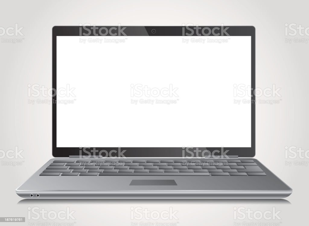 Notebook PC royalty-free stock vector art