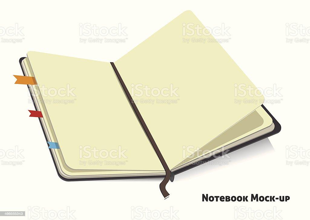 notebook royalty-free stock vector art